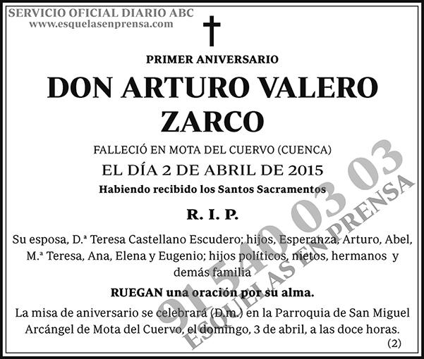 Arturo Valero Zarco